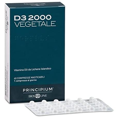 Vitamina D3 2000 Principium vegetale