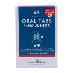 Oral tabs rapid junior fragola